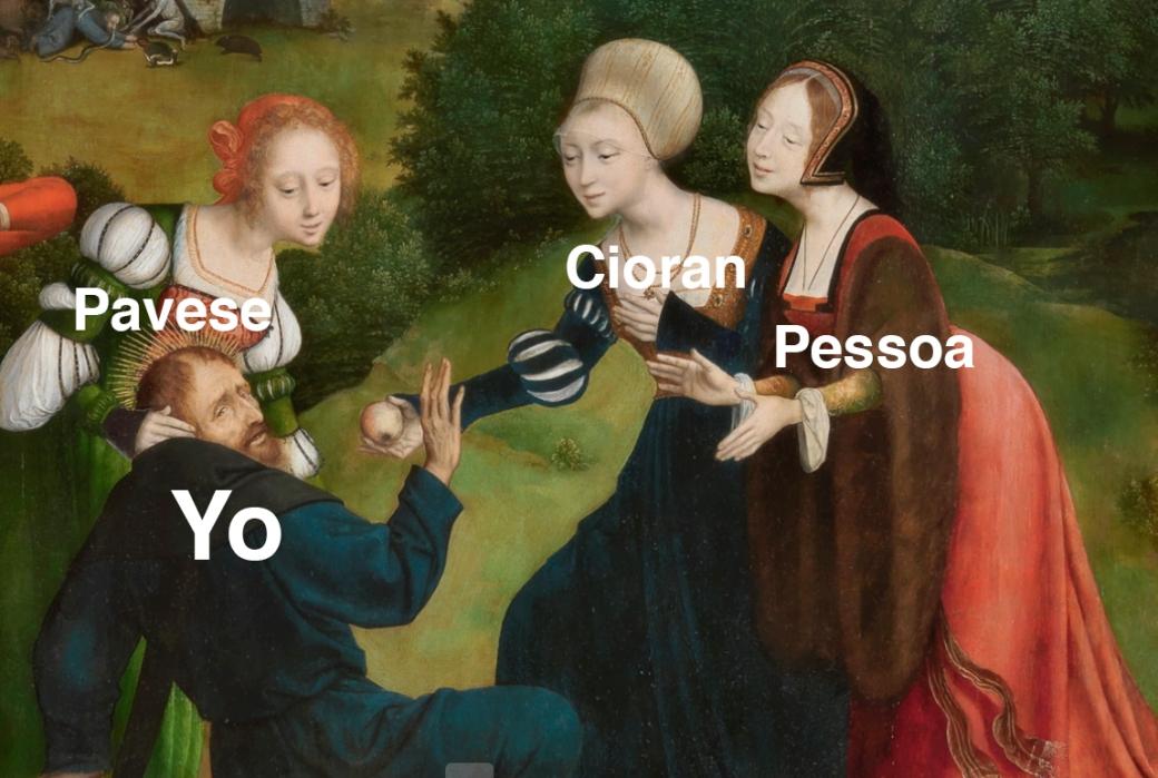 Pessoa-Cioran-Pavese